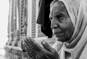 Caption : The Power of a Praying Woman Name : Devang Shrimali